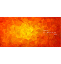 Flat 2d abstract triangle background vector
