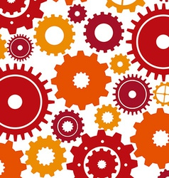 gears design vector image