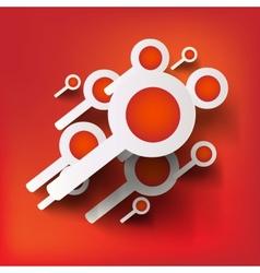 search web icon vector image