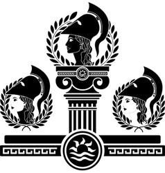 glory of Athena vector image