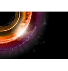 background red dark vector image vector image