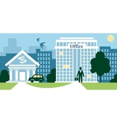 City business vector