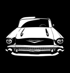Classic car 03 vector