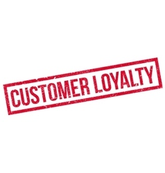 Customer Loyalty rubber stamp vector