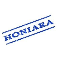 Honiara Watermark Stamp vector image