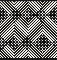 monochrome geometric diagonal lines pattern vector image