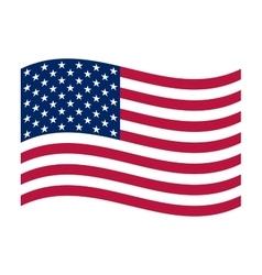 National political official US flag vector