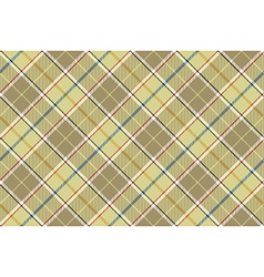 Beige check seamless diagonal fabric texture vector image