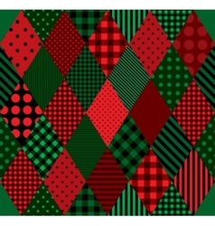Patchwork colors Harlequin vector image