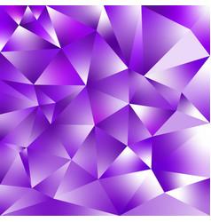 abstract irregular polygonal background purple vector image