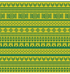aztec pattern vector image vector image