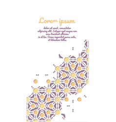 Card design for invitation celebration save the vector