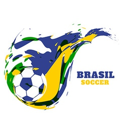 Creative fotball design vector