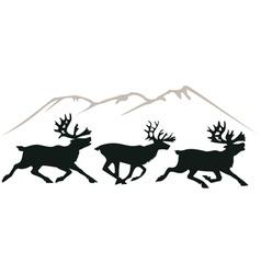deer's vector image