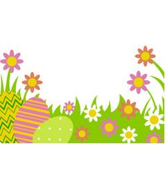 eggs in row vector image