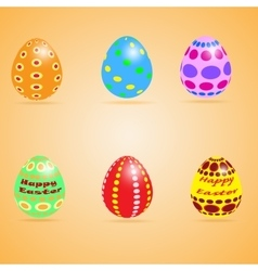 Funny eater eggs vector