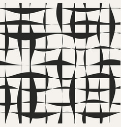 Jagged lines seamless pattern vector
