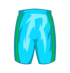 Sports shorts icon cartoon style vector image