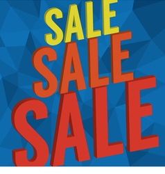 Sale banner background vector