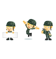 Army 1 vector image vector image