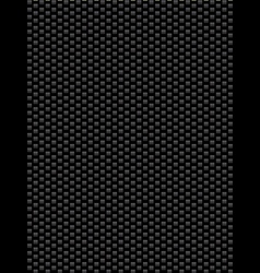 Black texture synthetic fiber geometric seamless b vector image