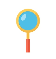 Magnifying glass Searching symbol vector image