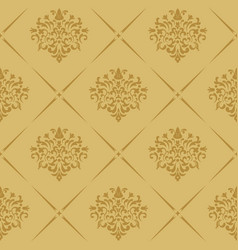 vintage royal wallpaper seamless vector image