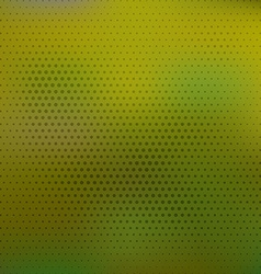Abstract colorful blurred background With halftone vector