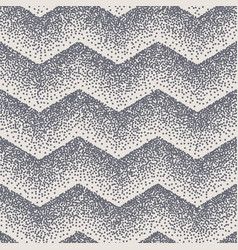 abstract seamless chevron zigzag stipple dots eps vector image