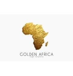 Africa golden logo creative logo vector