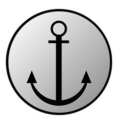 Anchor button vector