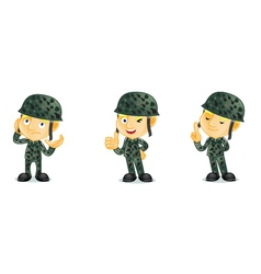 Army 2 vector image