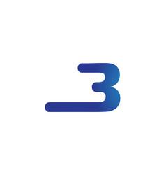 B letter logo business vector