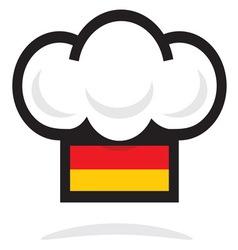 Germany cheft hat vector