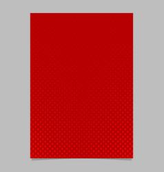 halftone pine tree pattern brochure template vector image