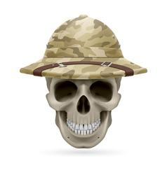 Hat skull vector