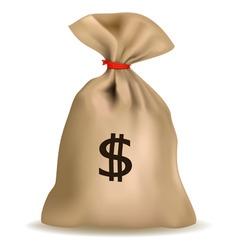 Sack of money vector