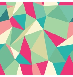 Seamless polygonal pattern background vector