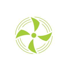 turbine wind symbol decoration vector image