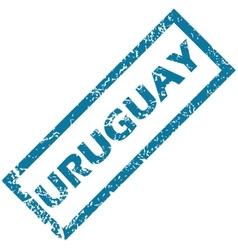 Uruguay rubber stamp vector