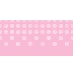 Abstract pink textile dots horizontal seamless vector