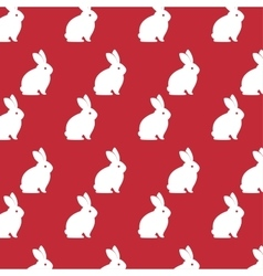 Cartoon icon rabbit design isolated vector