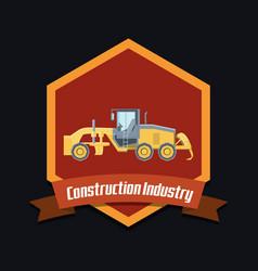Construction industry design vector