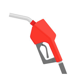 fuel pump petrol icon gas pump gun logo vector image