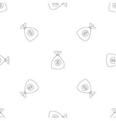 money pattern seamless vector image