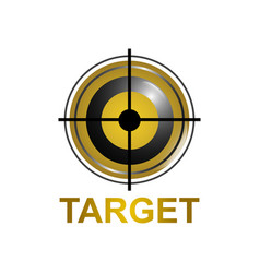 target icon symbol logo concept design template vector image