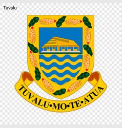 Emblem of tuvalu vector