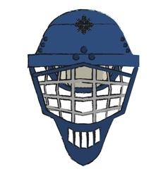 Isolated winter helmet design vector