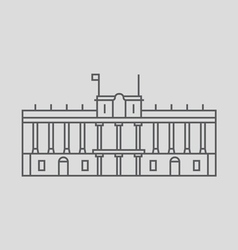 Royal Palace Of Madrid vector