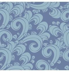 seamless doodle vintage vector image